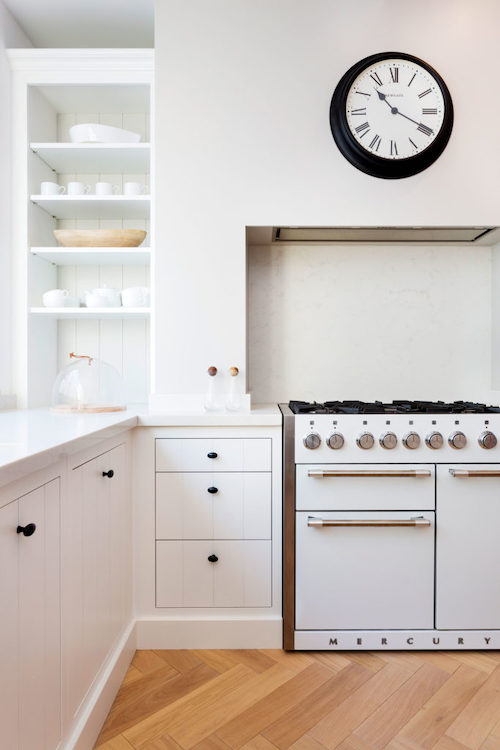 Astell Street - kitchen painted in white